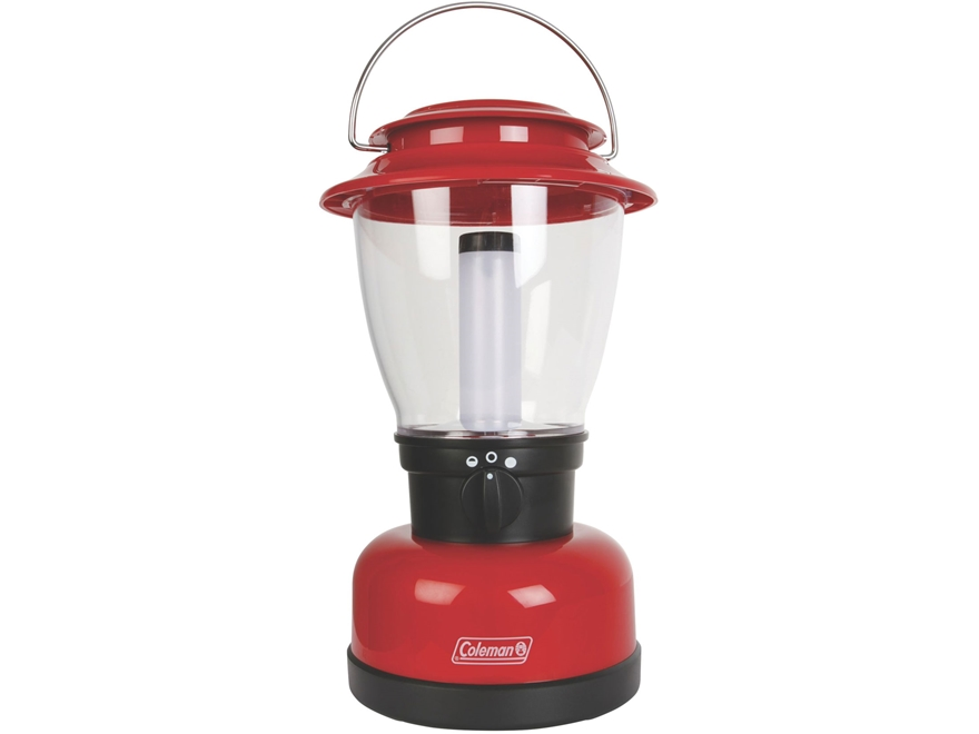 Coleman CPX 6 Classic XL Lantern LED with Rechargeable Battery Polymer Red