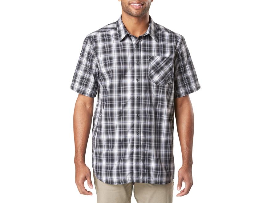 5.11 Men's Breaker Button-Up Shirt Short Sleeve Polyester
