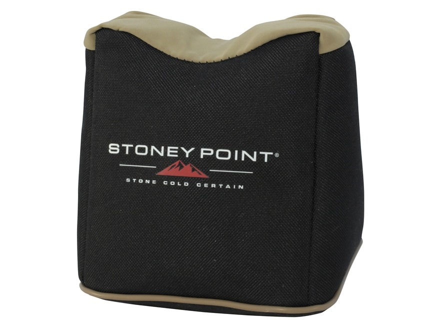 Stoney Point Standard Front Shooting Rest Bag Nylon and Leather Filled