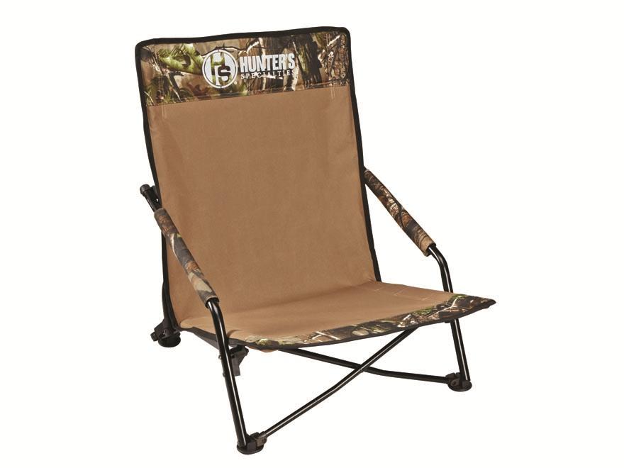 Hunter's Specialties Strut Lounger Turkey Field Chair Polyester Realtree Xtra Camo Green
