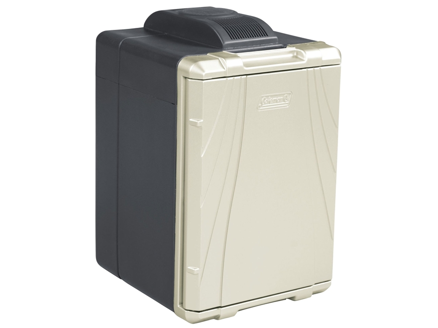 Coleman 40 Qt Powerchill Thermoelectric Cooler 12 Volt Black and Beige