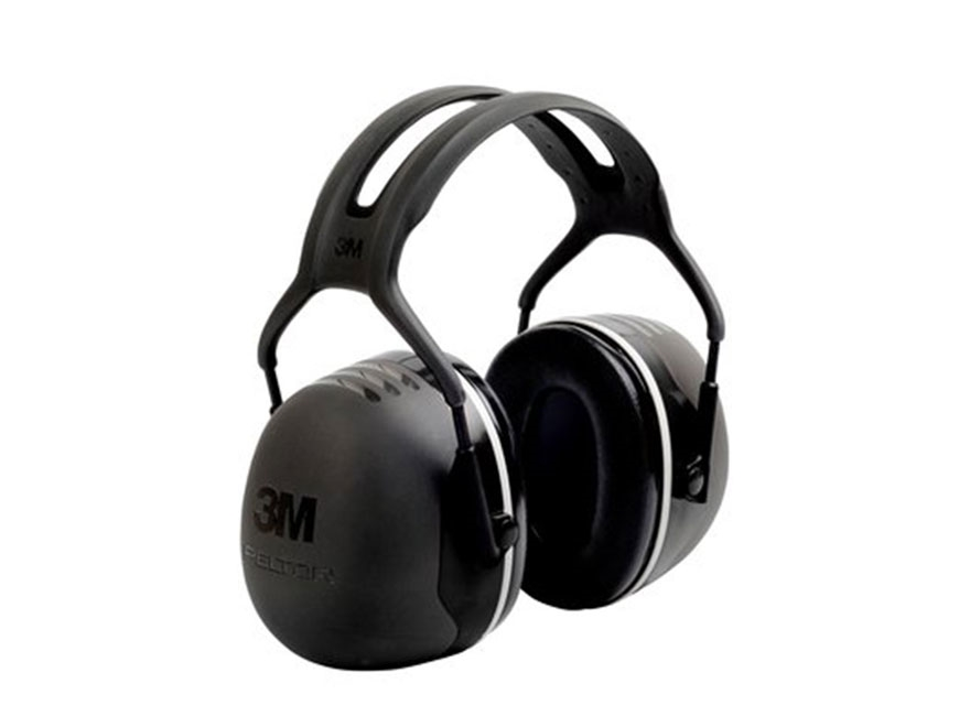 Peltor X5 Ear Defenders Earmuffs (NRR31 dB) Black