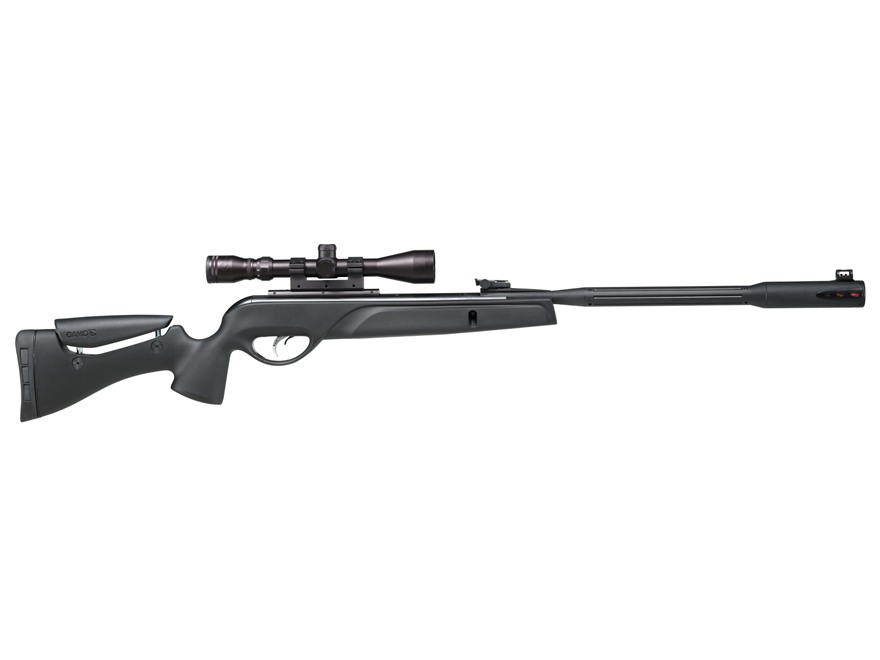 Gamo Whisper Fusion Break Barrel Air Rifle 177 Caliber Pellet Synthetic Stock Matte Bar...