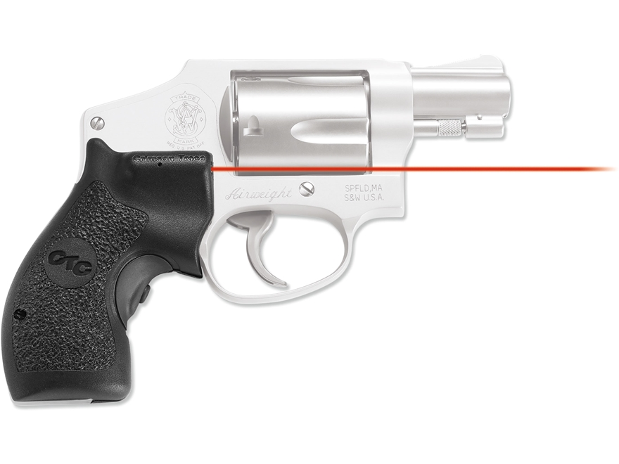 Crimson Trace Lasergrips S&W J-Frame Round Butt Polymer