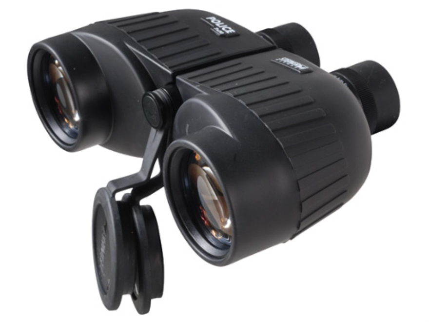 Steiner Military and Police Binocular Porro Prism Rubber Armored Black