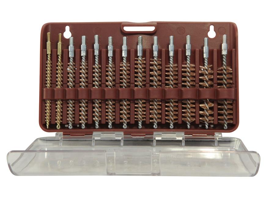 Tipton Bore Brush Set 13-Piece Rifle Bronze