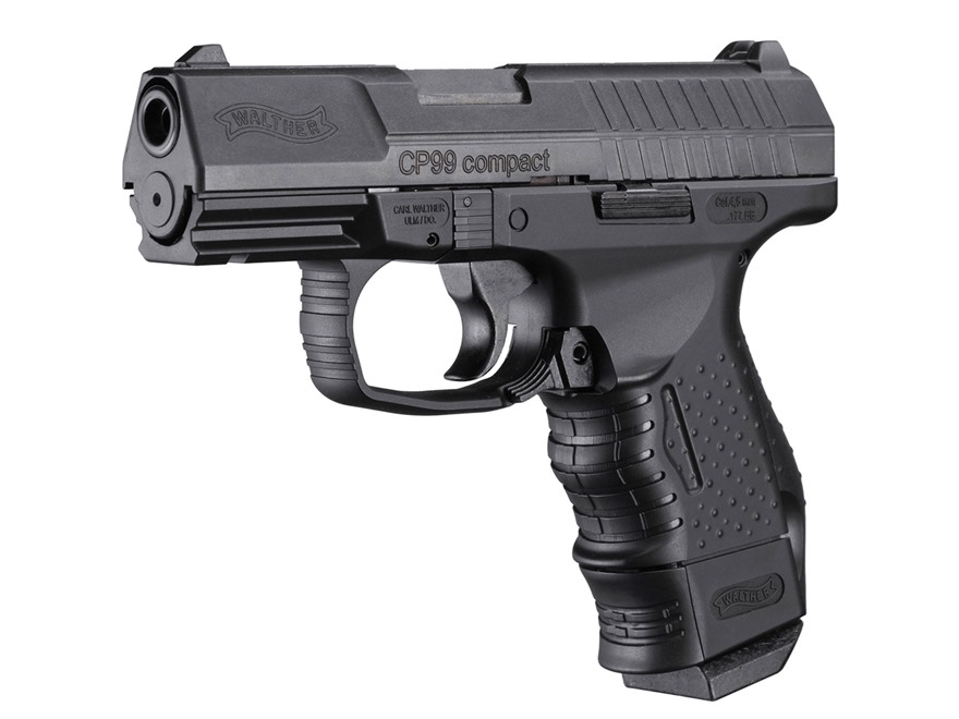 Walther CP99 Compact Air Pistol 177 Caliber BB Black