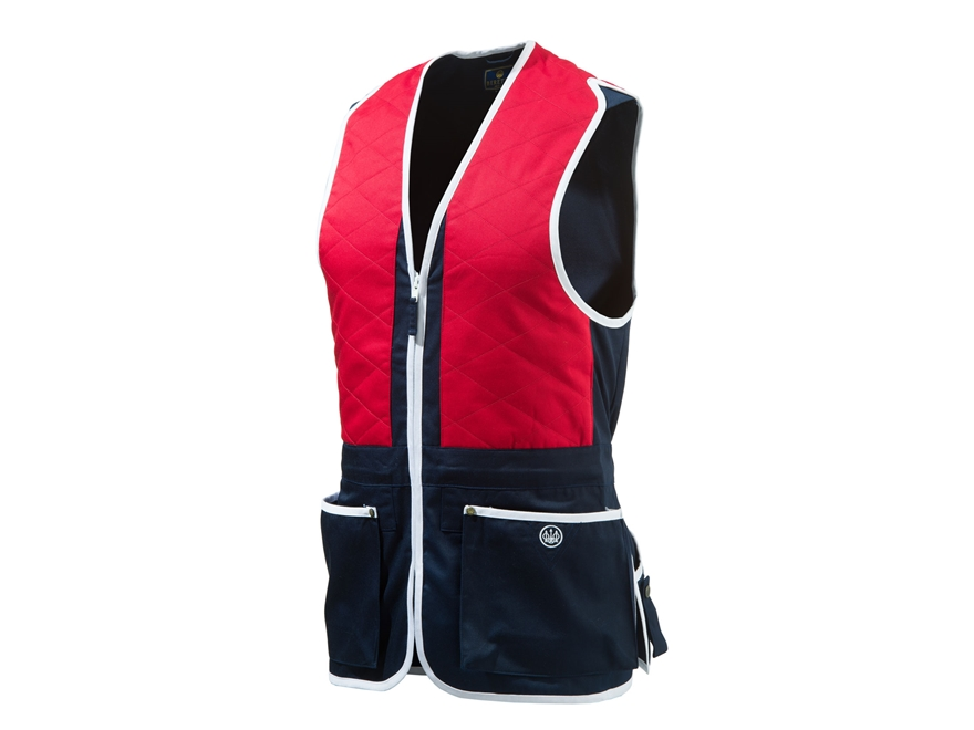 Beretta Men's Trap Vest Ambidextrous Cotton