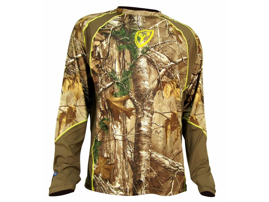 ScentBlocker Men's 1.5 Performance Long Sleeve Crew Shirt