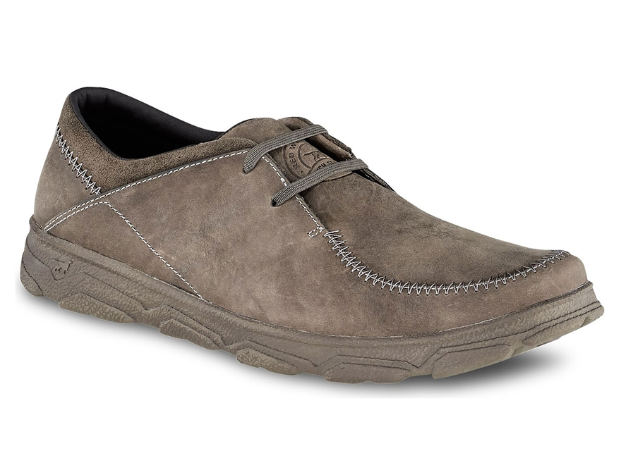 "Irish Setter Traveler 4"" Oxford Slip-On Hiking Shoes Leather Men's"