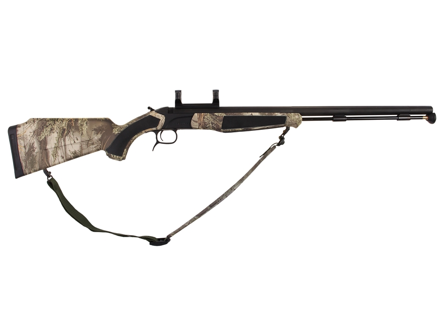 "CVA Accura MR Muzzleloading Rifle with Dead-On Scope Mount 50 Caliber 25"" Fluted Stainl..."