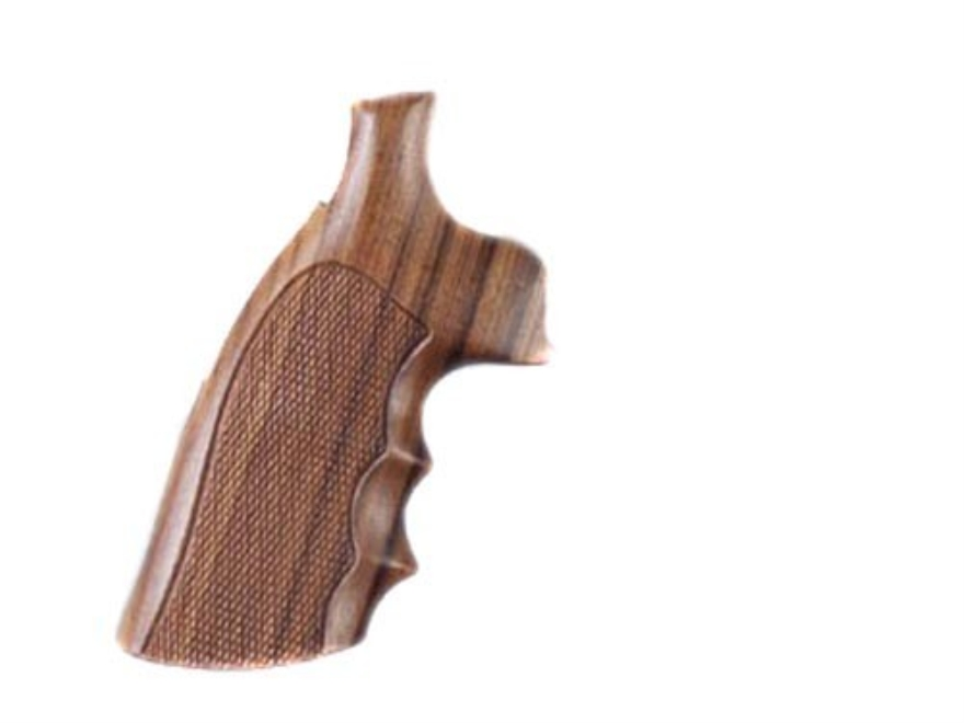 Hogue Fancy Hardwood Grips Dan Wesson Large Frame Checkered