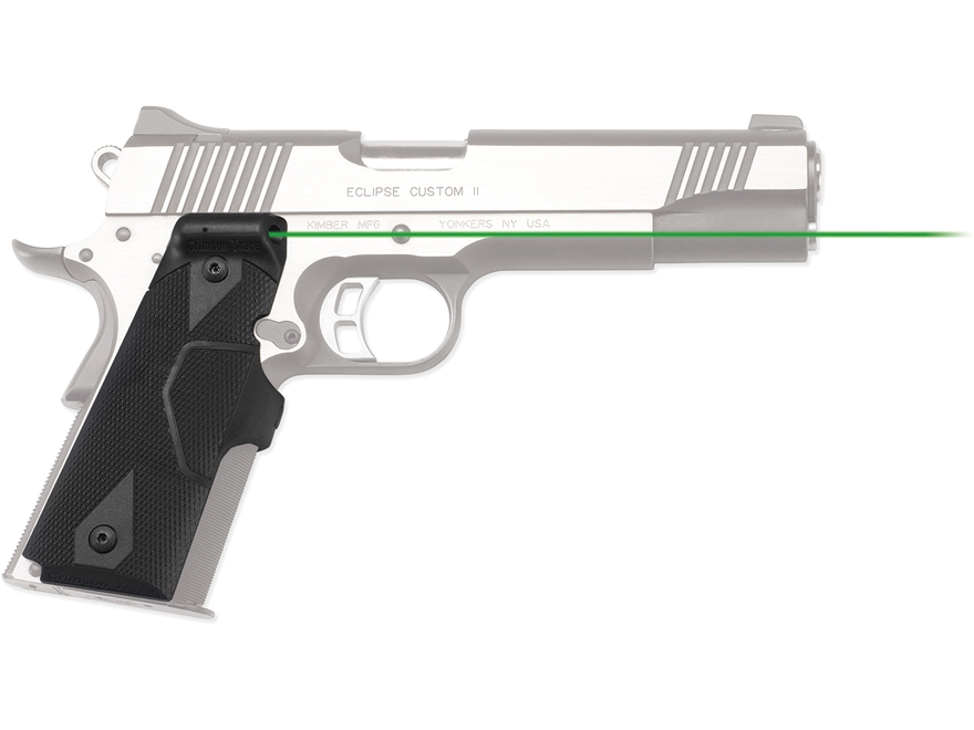 Crimson Trace Lasergrips 1911 Front Activation Polymer