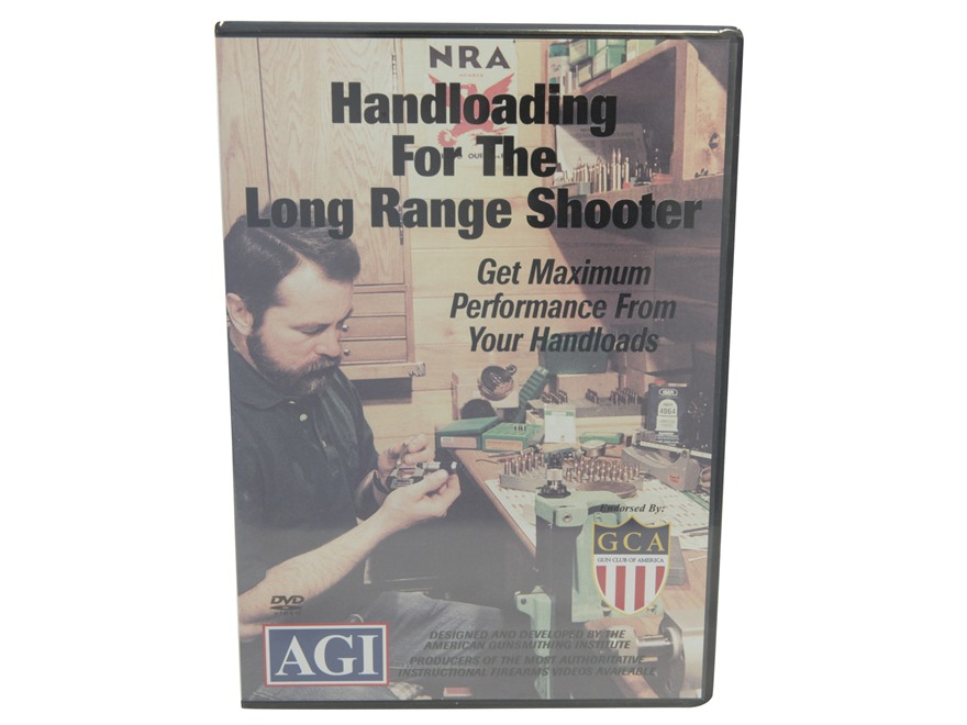 "American Gunsmithing Institute (AGI) Video ""Handloading for the Long Range Shooter"" DVD"