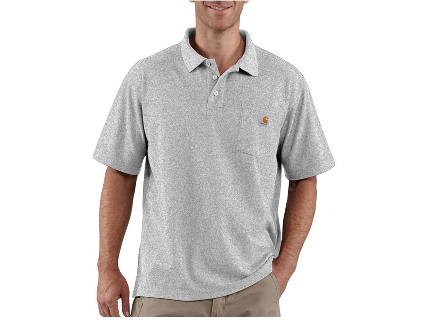 Carhartt Men's Contractors Work Pocket Polo Short Sleeve