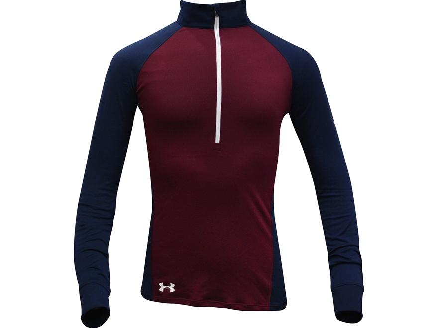 Under Armour Women's UA Freedom Tech 1/2 Zip Shirt Long Sleeve Polyester