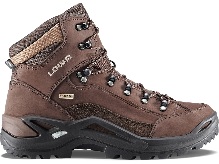 "Lowa Renegade GTX Mid 6"" Waterproof GORE-TEX Hunting Boots Leather/Cordura Men's"