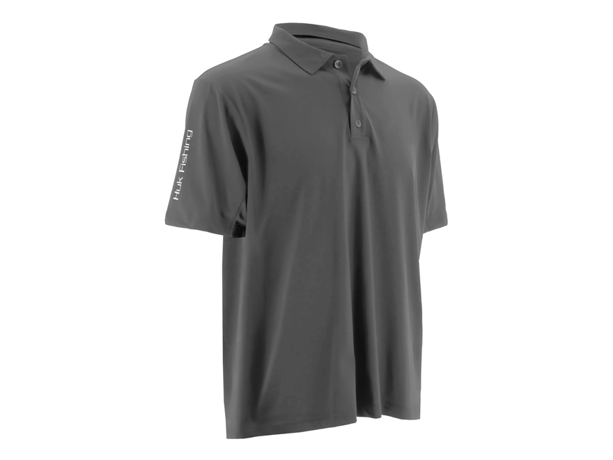 Huk Icon Performance Polo Short Sleeve Polyester