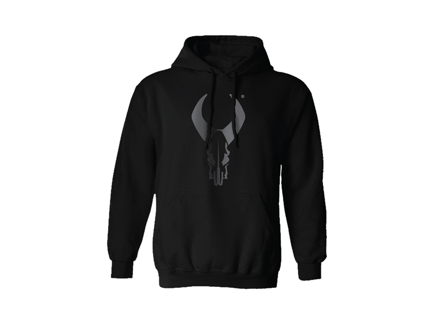 Badlands Men's Blacked Out Logo Hoodie Polyester Black