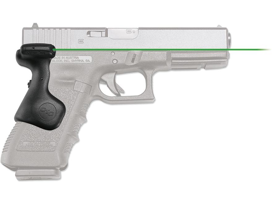 Crimson Trace Lasergrips Glock Gen-3, Gen-4  Rear Activation Polymer Black