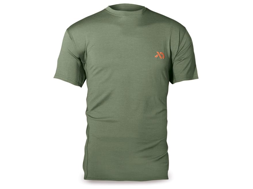 First Lite Men's Llano Crew Short Sleeve Base Layer Shirt Merino Wool