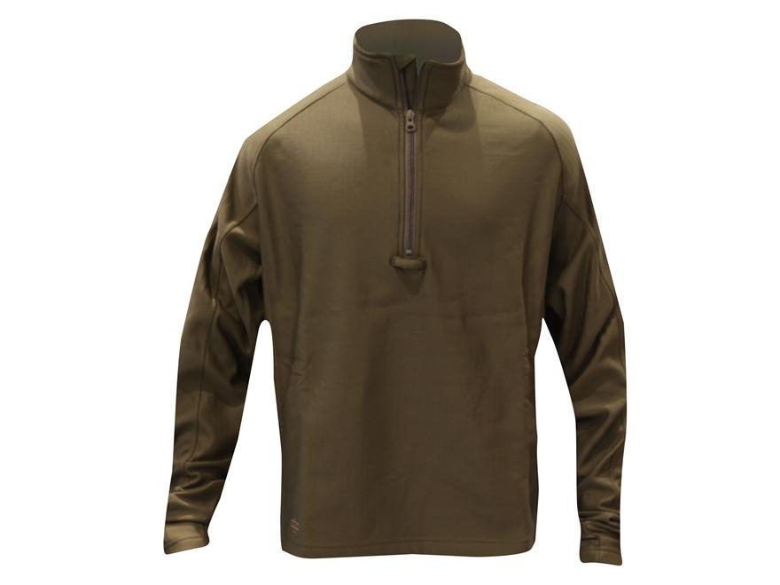 Tru-Spec 24-7 Grid Fleece 1/4 Zip Pullover Shirt Long Sleeve Polyester