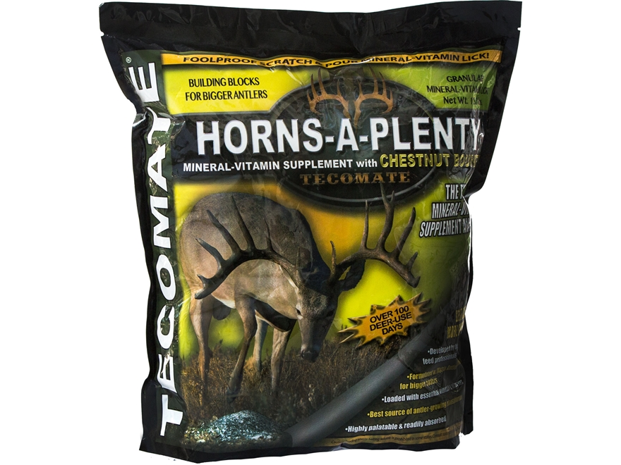 Tecomate Horns-A-Plenty Granular Mineral Mix Deer Attractant 25 lb
