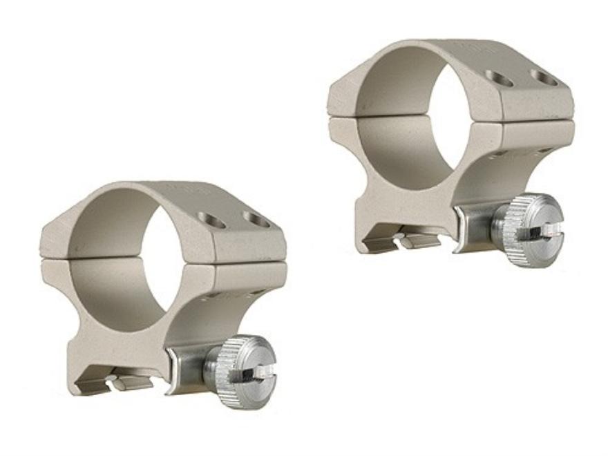 "Ironsighter 1"" Weaver-Style Rings Silver Medium"