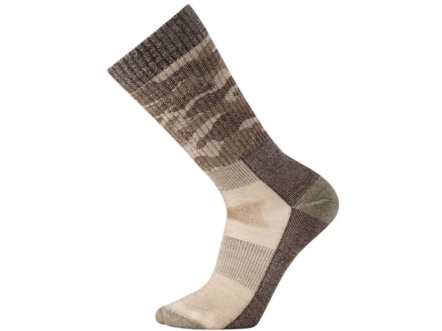 Smartwool Men's Hunt Medium Camo Crew Socks Merino Wool/Nylon