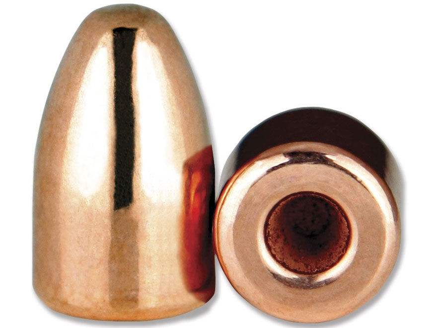 Berry's Bullets 9mm (356 Diameter) 115 Grain Plated Hollow Base Round Nose Thick Plate