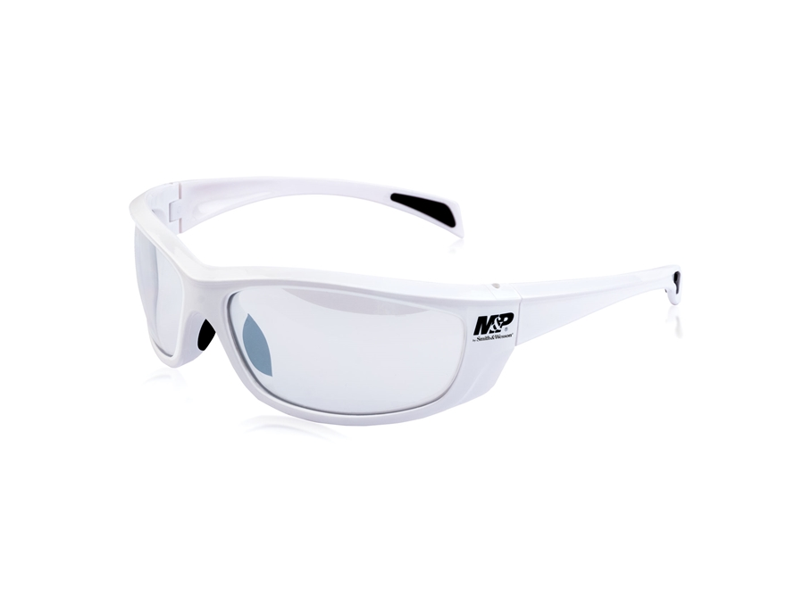 Smith & Wesson M&P Whitehawk Shooting Glasses White Frame