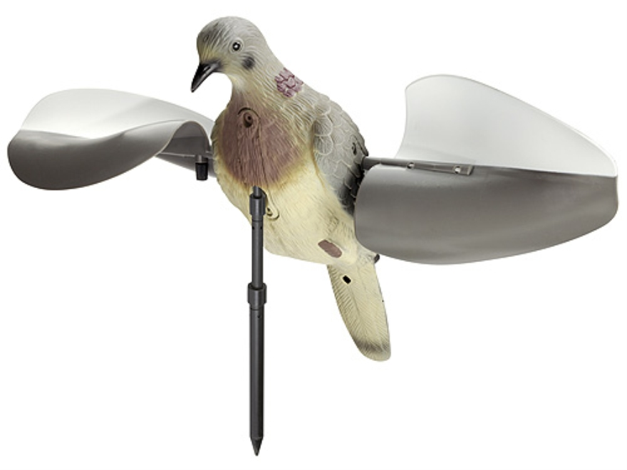 Lucky Duck Air Dove with Ground Stake Dove Decoy Polymer