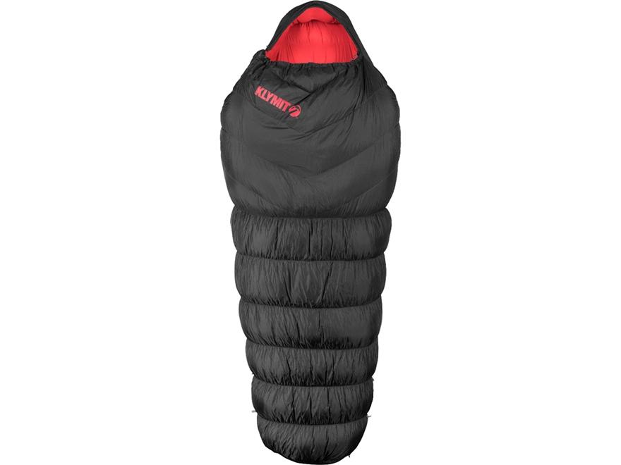 Klymit KSB 0 Degree Oversized Down Sleeping Bag Polyester Black