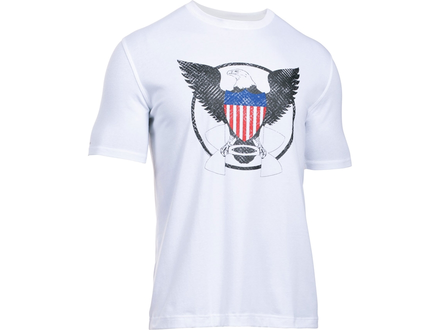 Under Armour Men's UA USA Eagle T-Shirt Short Sleeve Charged Cotton