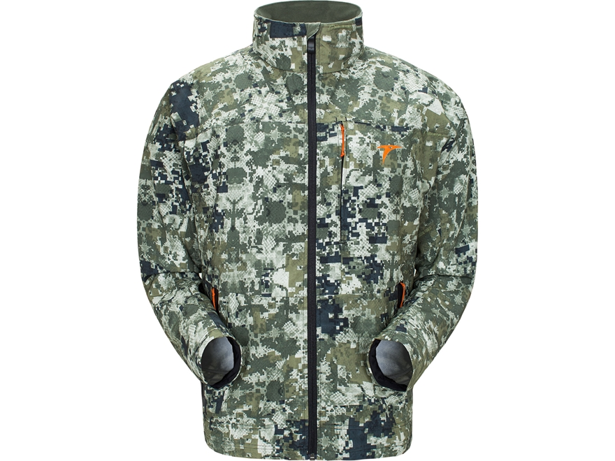 Plythal Men's Scrapeline 1.0 Lightweight Scent Control Jacket Polyester Digital Forest ...