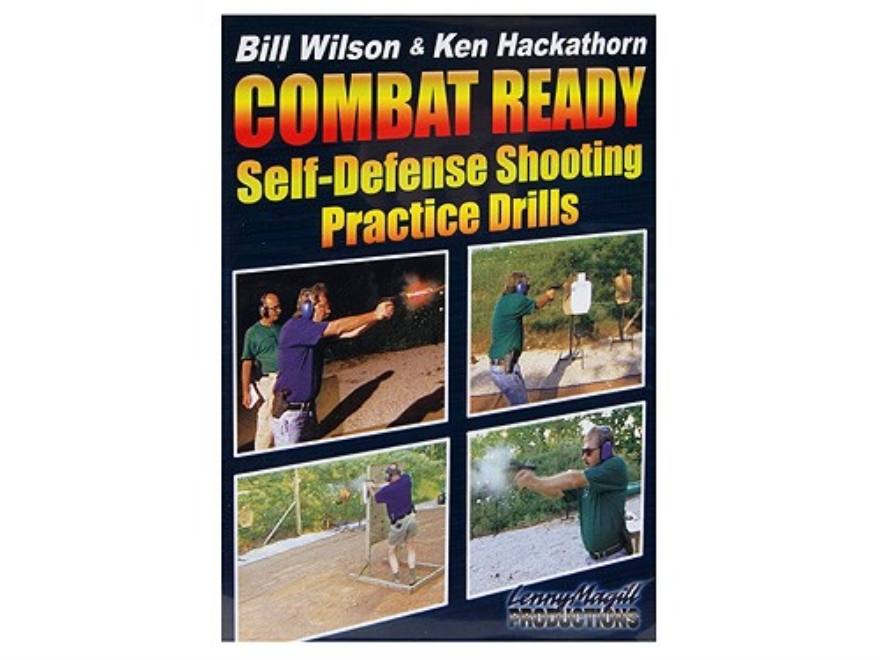 "Gun Video ""Combat Ready: Self-Defense Shooting Practice Drills with Bill Wilson and Ken..."
