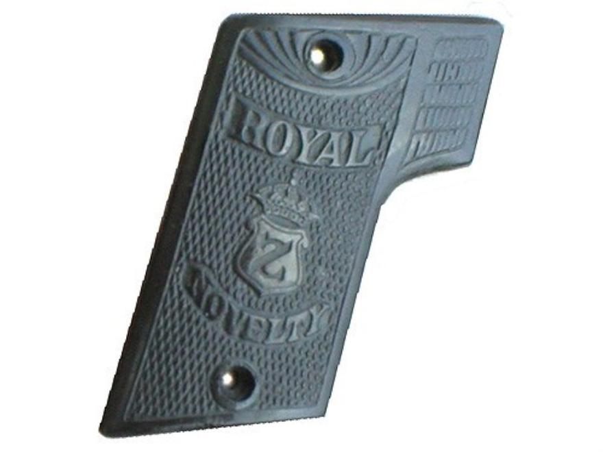 Vintage Gun Grips Royal Z Novelty Polymer Black