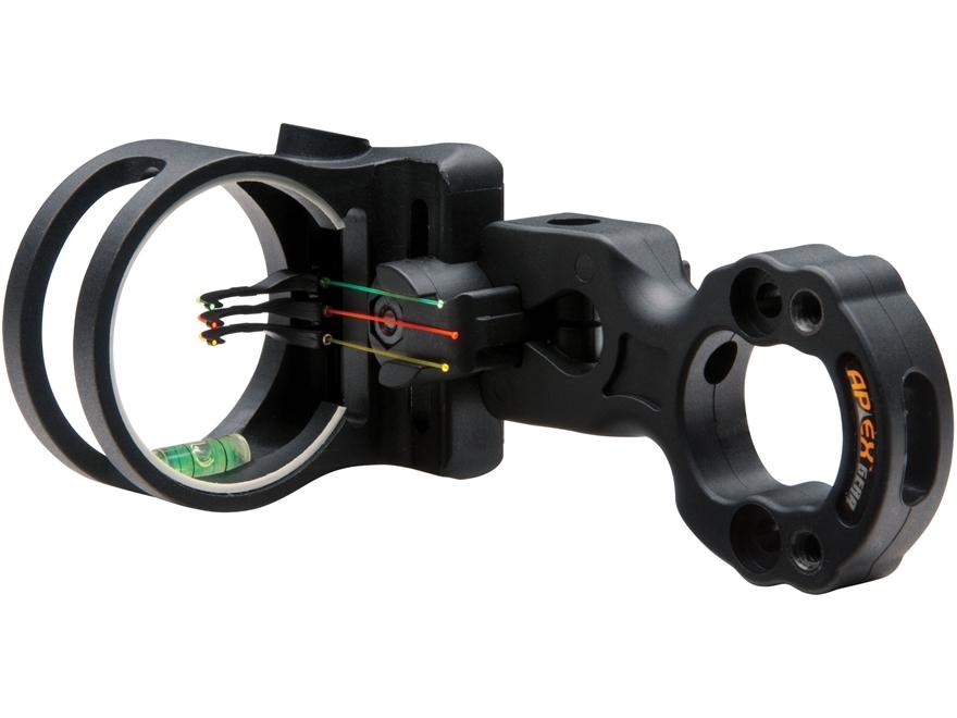 """Apex Gear Tundra 3-Pin Bow Sight .019"""" Diameter Pins"""