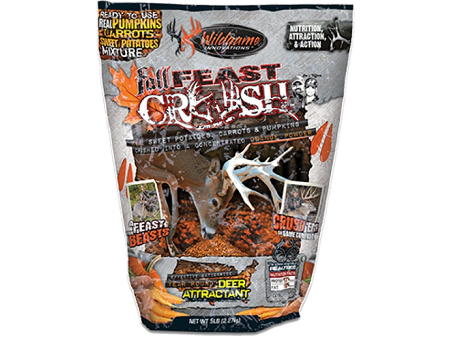 Wildgame Innovations Fall Feast Crush Mix Deer Attractant Powder 5 lb