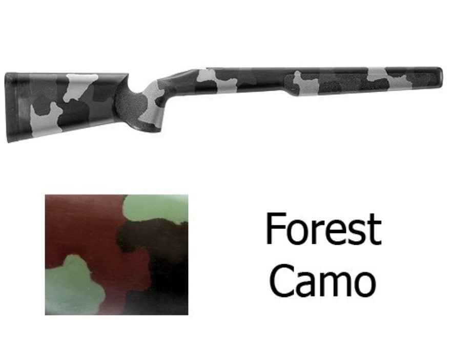 McMillan A-2 Rifle Stock Remington 700 BDL Long Action Varmint Barrel Channel Fiberglas...