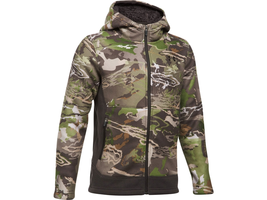 Under Armour Boy's UA Stealth Mid-Season Scent Control Hoodie Polyester