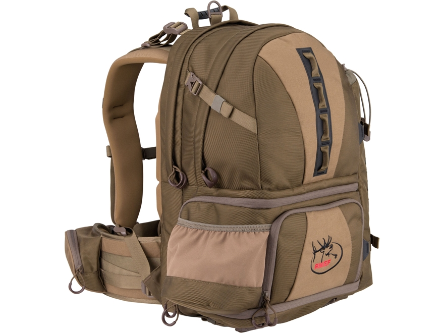 ALPS Outdoorz RMEF Raptor X Backpack Nylon Coyote Brown