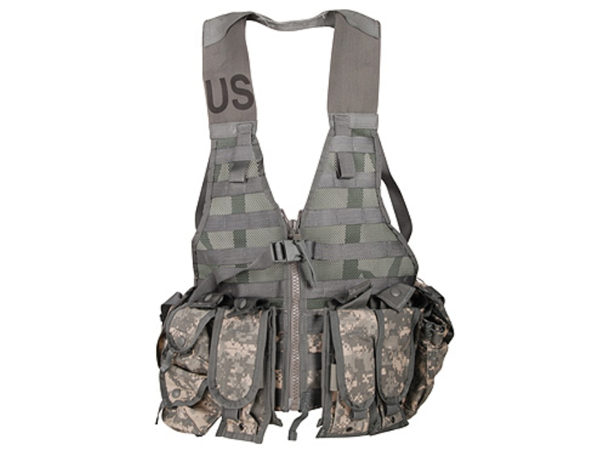 Surplus M.O.L.L.E. II Fighting Load Carrier (FLC) Vest Set Cordura with Nylon Webbing A...