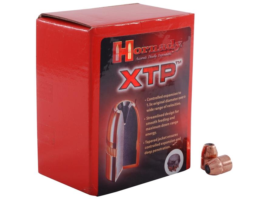 Hornady XTP Bullets 45 Caliber (452 Diameter) 250 Grain Jacketed Hollow Point Box of 100