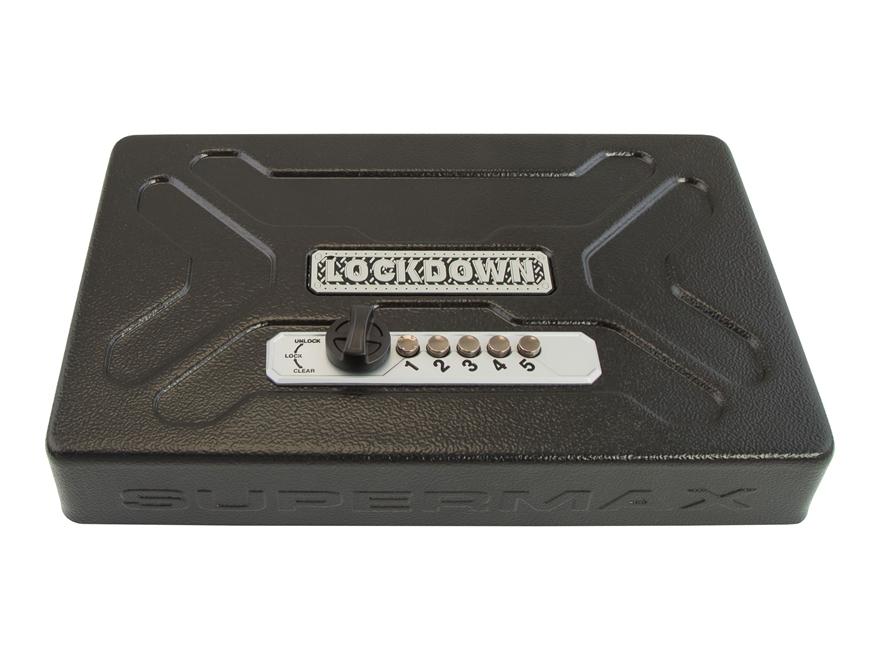 LOCKDOWN SuperMax Universal Security Vault Mechanical Lock Steel Black