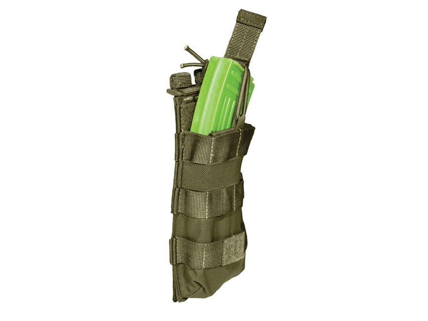 5.11 Single AK-47 Magazine Pouch with Bungee Cover Nylon