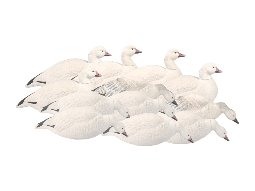 Final Approach Last Pass HD Outfitter Pack Shell Snow Goose Decoy Pack of 12