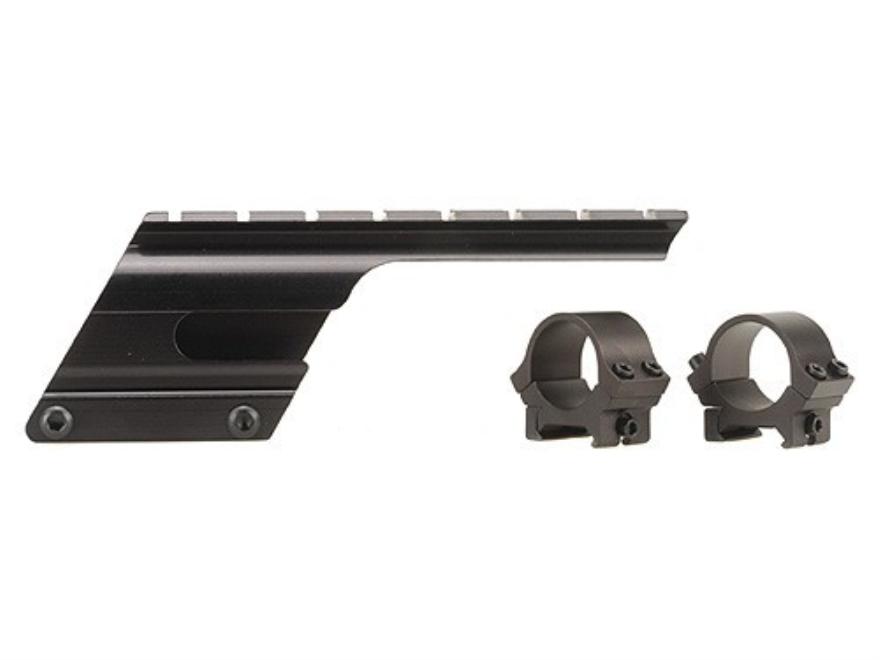 """B-Square Shotgun Saddle Mount with 1"""" Rings Remington 1100 and 11-87 12, 16, 20 Gauge (..."""