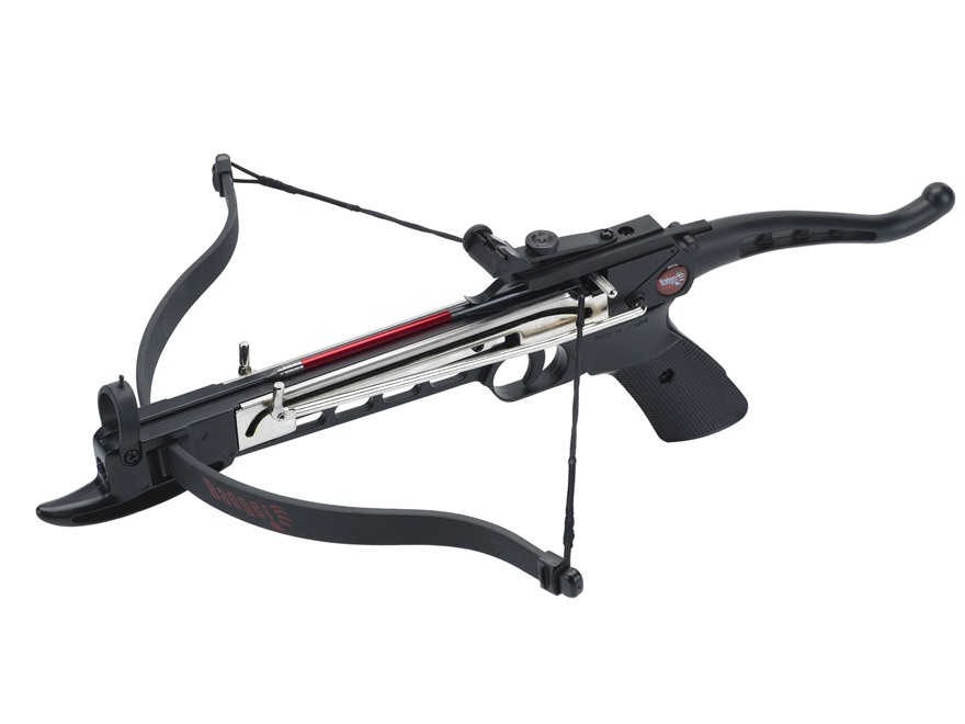Velocity Archery Badger Self-Cocking Crossbow Pistol Black
