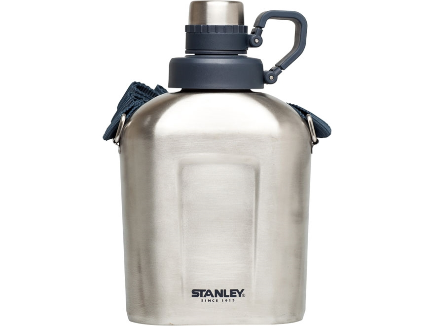 Stanley Adventure Steel Canteen 1.1 Qt Stainless Steel